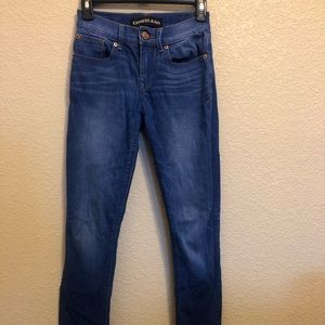 Express jeans size 0 regular length